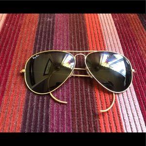 80s Vintage Ray Ban Shooter Sunglasses